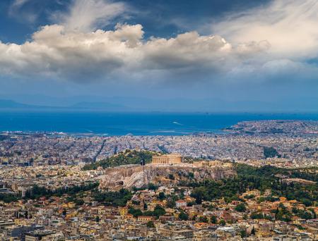 acropolis: Athens city view - Acropolis Parthenon , Greece