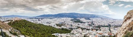 panoramic view: Panoramic view of Athens ,Greece