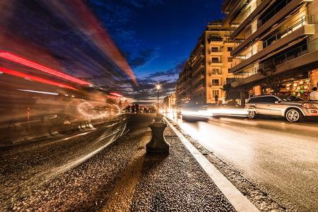 Thessaloniki by Night, Long Exposure Wide Angle Shot