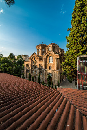 11th: Church of Panagia Chalkeon, 11th cectury, Thessaloniki, Greece Stock Photo