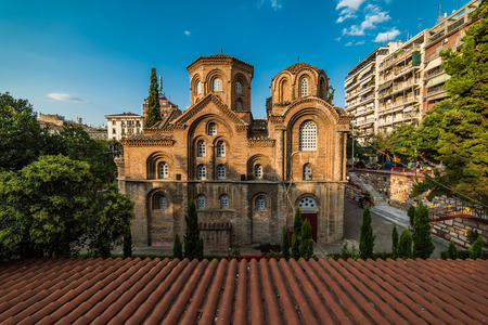 Church of Panagia Chalkeon, 11th cectury, Thessaloniki, Greece Stock Photo