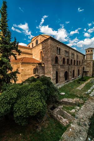 Hagia Sophia Cathedral, Thessaloniki Greece Stock Photo