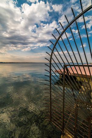 Thessaloniki Port at daytime, Greece
