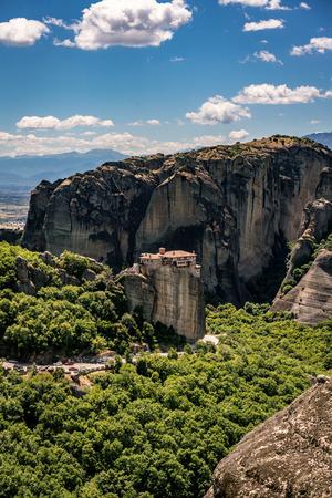 Meteora, Monasteries on Huge Rocks, near Kalabaka in Greece