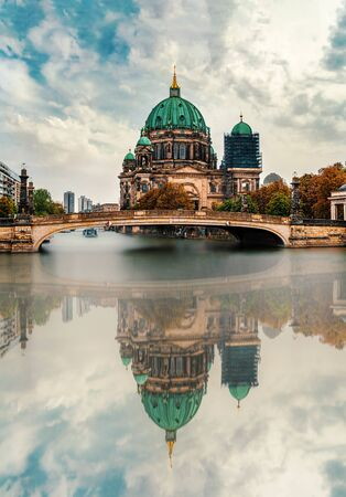 Museum Island in Berlin, Germany. Cathedral