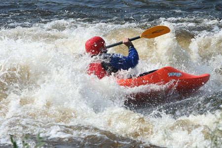 National Kayak Championship Whitewater Park Redakční