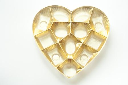 Empty heart box
