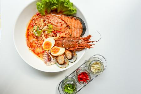 yum: Thai tom yum lobster