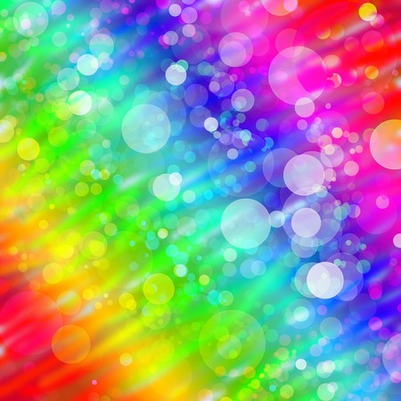 Multicolored abstract bokeh background photo
