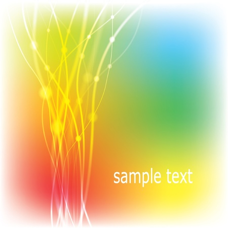 Abstract multicolored background.     Stock Vector - 8687312