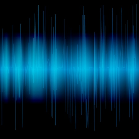 analyzer: Abstract blue background.  illustration Illustration