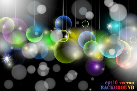 Abstract multicolored christmas background.  illustration Stock Vector - 8687294