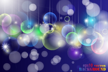 Abstract multicolored christmas background. illustration Stock Vector - 8687305