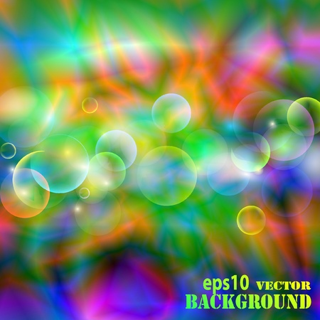 Abstract multicolored background.  illustration Stock Vector - 8687328