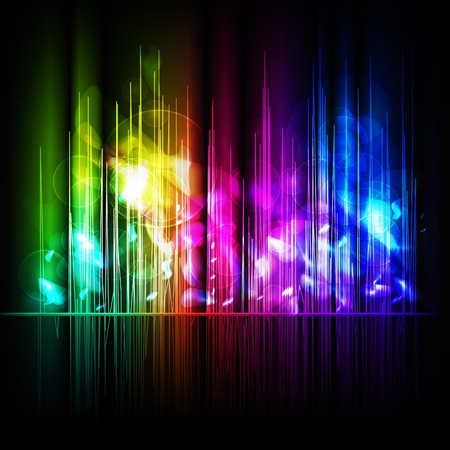Abstract multicolored background.  Vector
