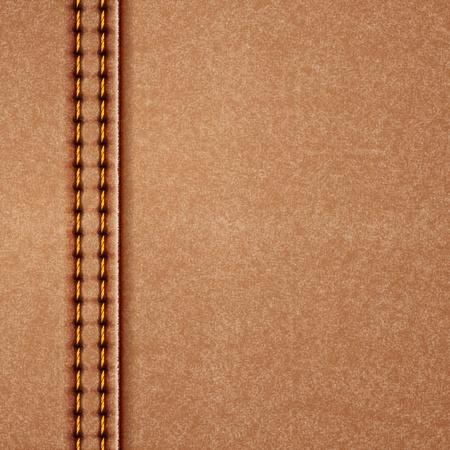 cuir: Illustration de fond en cuir Illustration