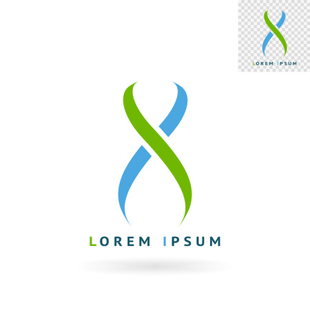 web sites: Modern abstract womans figure sign for logos, banners, layouts, corporate  brochures, templates and internet web sites. Vector eps10 illustration