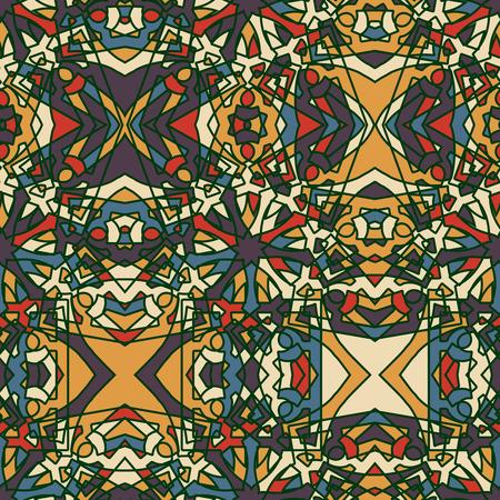 edad media: Fantasía Edad Media patrón abstracto sin fisuras.