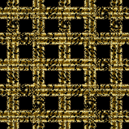 gold fabric: Black and gold  pattern. Abstract modern background. Vector illustration.Dark backdrop with  shiny gold stripes. Illustration