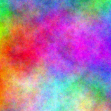 Abstract rainbow watercolor background. Vector illustration. Fantasy design. Editable template with space for your text. 免版税图像 - 37461110