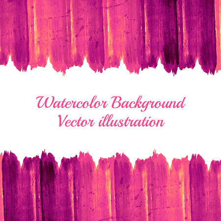 Abstract  background. Beautiful watercolor backdrop.Vector illustration. Colorful banner. Editable template. Space for your text. Vector