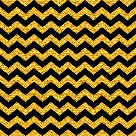 Black and gold  pattern. Abstract modern background. Vector illustration.Dark backdrop with  shiny gold stripes. Geometric seamless pattern.Classic design. Chevron. Zig zag.