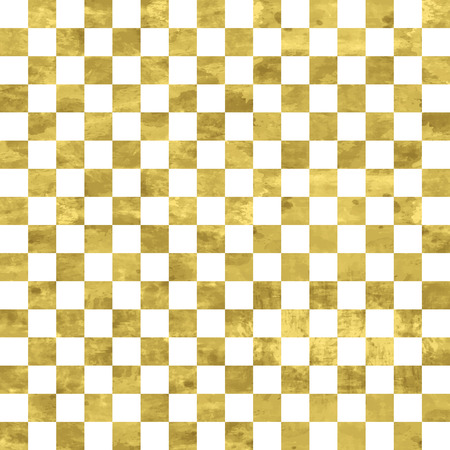 White and gold  pattern. Abstract geometric modern background. Vector illustration.Shiny backdrop. Texture of gold foil. Art deco style. Vectores