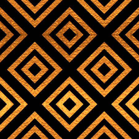 Black and gold  pattern.  Vector