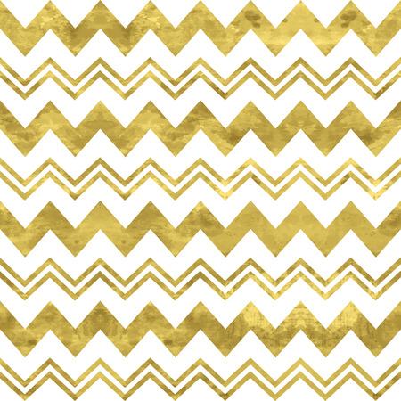 Weiß und Goldmuster. Abstrakte geometrische moderne Hintergrund. Vector illustration.Shiny Kulisse. Textur der Goldfolie. Klassischer Chevron-Tapete. Standard-Bild - 39556258