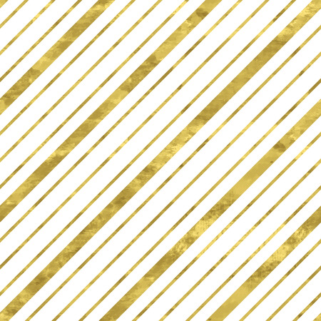 White and gold  pattern. Abstract geometric modern background. Vector illustration.Shiny backdrop. Texture of gold foil. Classic wallpaper with stripes. Ilustrace