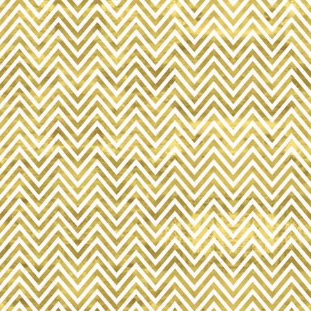 白と金のパターン。抽象的な幾何学的なモダンな背景。ベクトルの図。光沢のある背景。金箔のテクスチャ。古典的なシェブロンの壁紙。  イラスト・ベクター素材