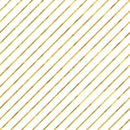 Blanco y oro patrón. Fondo moderno abstracto y geométrico. Telón de fondo vector illustration.Shiny. La textura de la hoja de oro. Papel pintado clásico con rayas.