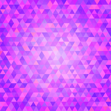 transition: Abstract minimalistic  background with purple triangles. Geometric wallpaper. Vector illustration. Vivid transition wallpaper Illustration