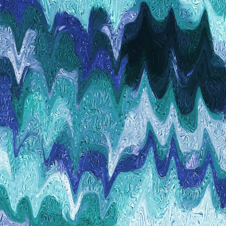 vivid colors: Abstract  background made with oil. Handmade texture. Vivid blue colors. Vector illustration. Illustration