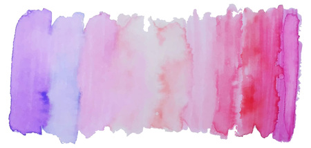 abstract rainbow: Vector  bright watercolor  banner or header. Isolated element for design. Freehand colorful banner. Acrylic stamp. Illustration