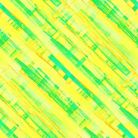 vivid colors: Vivid acrylic seamless pattern. texture. Bright acid yellow, blue and green colors. Colorful diagonal watercolor illustration.