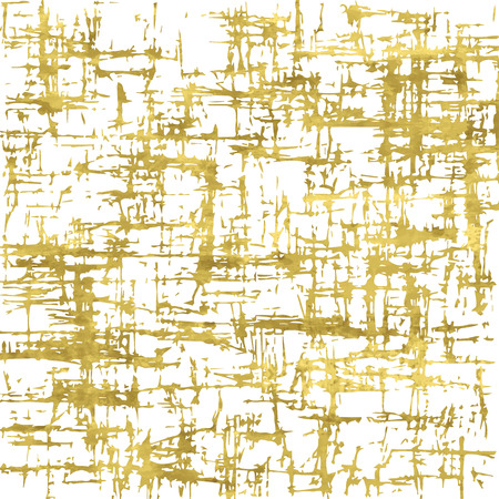 grunge wallpaper: Golden grunge vintage background. Abstract scratch wallpaper. Vector illustration. Shiny artistic poster. Texture of gold foil.