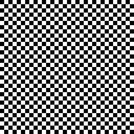 Classic abstract seamless pattern. Black and white background.Vector illustration. Simple  monochrome geometric wallpaper with squares.