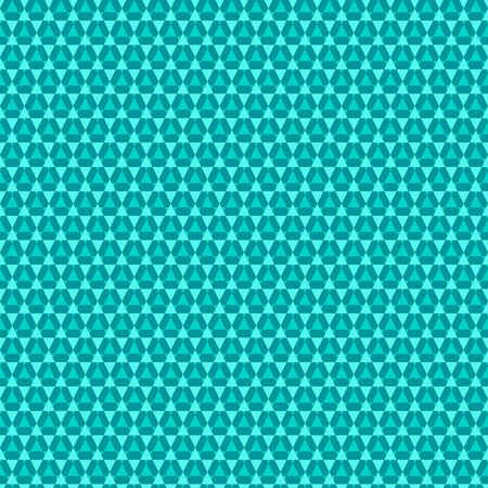 Festive seamless pattern with abstract stars and triangles.  Creative vector illustration. Gentle  blue color.  Light modern background. Monochrome backdrop.