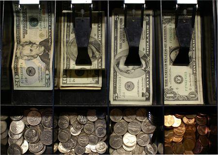 drawers:  Cash