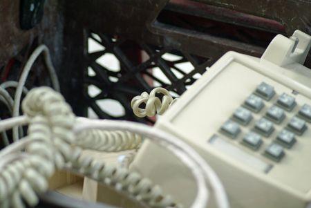 Cordon de téléphone                      Banque d'images - 2732083