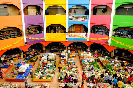 Pasar Siti Khadijah in all its colors