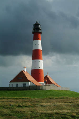 westerheversand lighthouse: Lighthouse