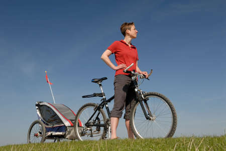 adherent: Biking Stock Photo