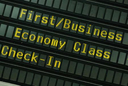Flight schedule photo