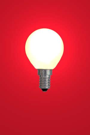 speculum: Red bulb