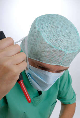 Doctor at work photo