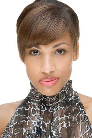 visage femme africaine: