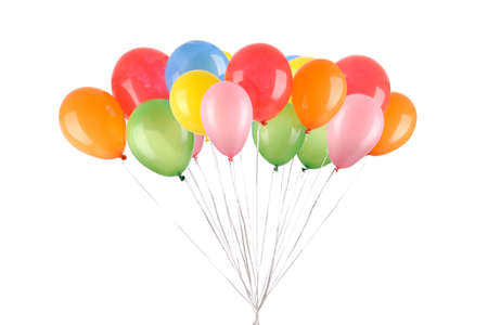 Full isolated studio picture from  balloons