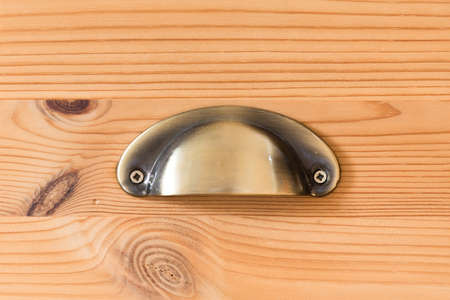 Closeup from drawer handle Reklamní fotografie